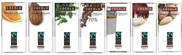 Cocolo Premium Organic Fairtrade Chocolate