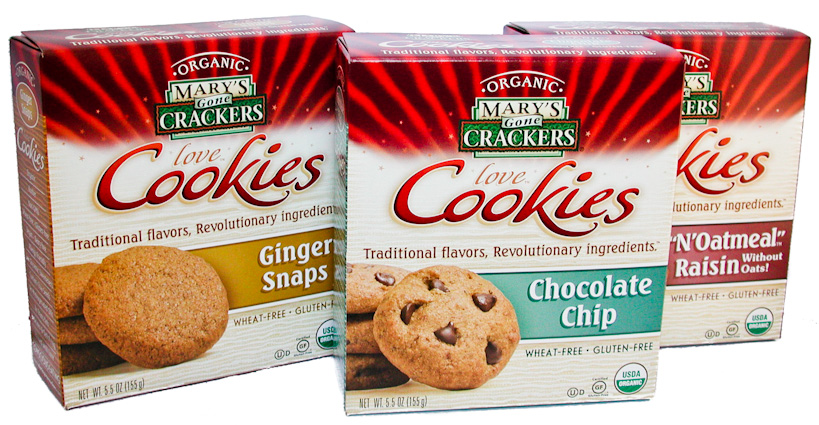 Mary's Gone Crackers Love Cookies