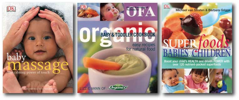 Baby & Childcare titles available through Orgnaic Trader