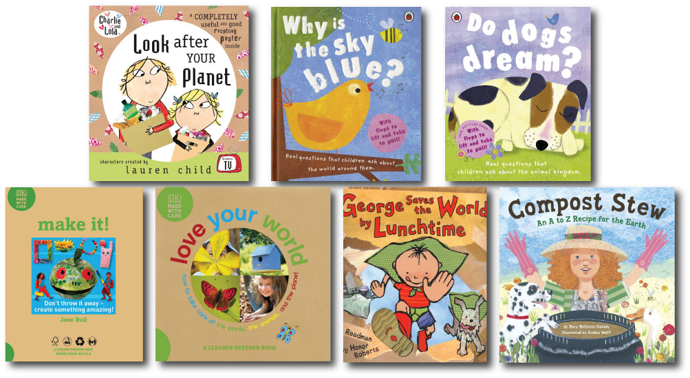 Kids' Books from Organic Trader